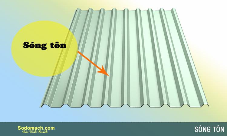 Tại sao mái tôn lại có hình lượn sóng